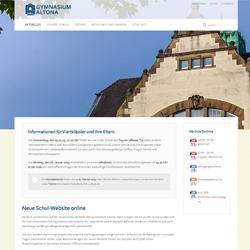 Neue Schul-Website online