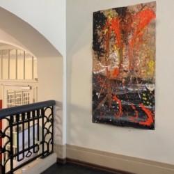 Actionpaintings nach Jackson Pollock