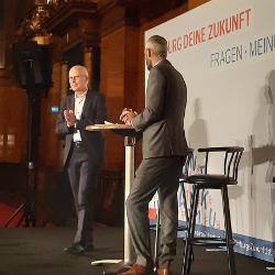 """""""HAMBURG DEINE ZUKUNFT"""" - Eine Veranstaltung mit Bürgermeister Peter Tschentscher"""