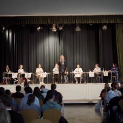 Podiumsdiskussion am Gymnasium Altona