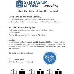 Gymnasium Altona schenkt!