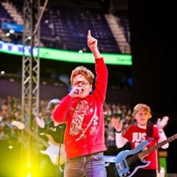 Toller Auftritt der BlaBlaBlas in der Barclaycard Arena!