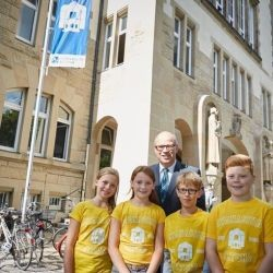 Senator Rabe zu Gast beim Launch des Digital Learning Labs