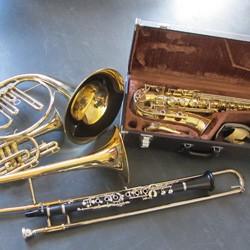 Musikinstrumente zu verleihen!