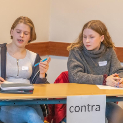 Tolle Debatten beim Jugend debattiert-Schulentscheid 2020