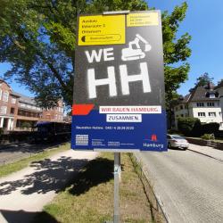 Baustelle Hohenzollernring