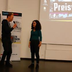 Sira Fersorglu gewinnt 1. Preis bei hamburgmemory!