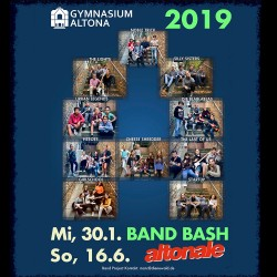Band Bash 2019 - Save the date!