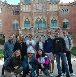 Erasmus+ Reise nach Barcelona
