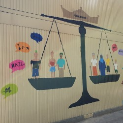 Unser Projekt: Demokratie gestalten als Street-Art (Graffiti)