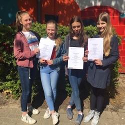 2. Platz für Schülerinnen der 7c beim Bundesfremdsprachenwettbewerb-Französisch!