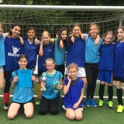2. Platz für die Mädchen der 5c beim Harald-Koyro-Cup!