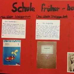 Schule FRÜHER-HEUTE-ein Geschichtsprojekt der 6a