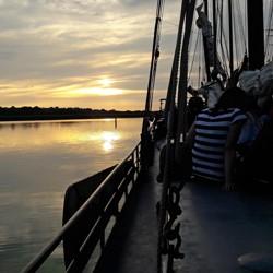 Segelfahrt der 9. Klassen nach Holland