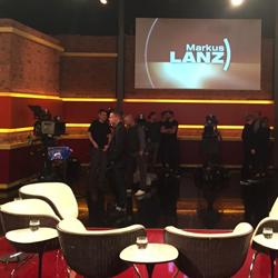Im Studio bei Markus Lanz